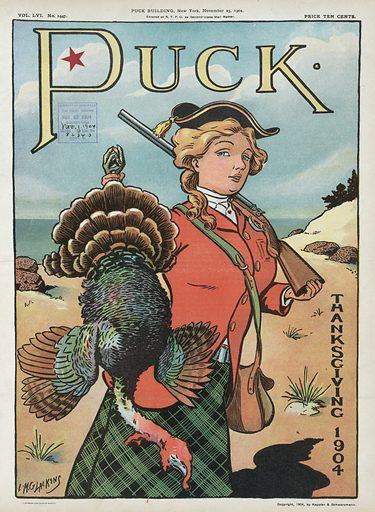 Puck Thanksgiving 1904