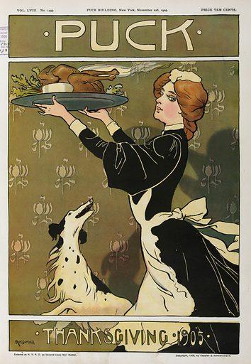 Puck Thanksgiving 1905