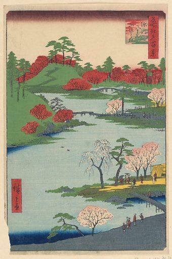 Fukagawa Hachiman yanabiraki from the Series One Hundred Famous Views of Edo