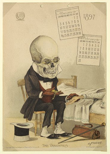 The Antikamnia Calendar, January and February, 1897: The Diagnosis