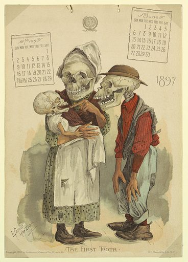 The Antikamnia Calendar, May and June, 1897: The First Tooth