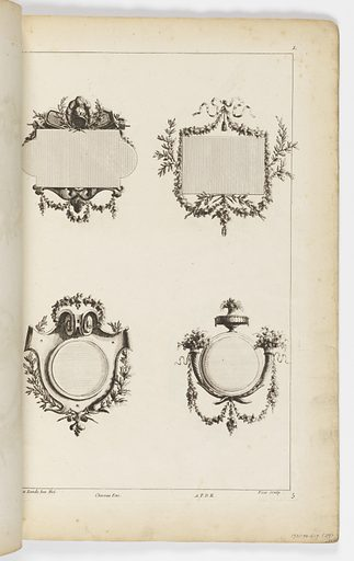 Interior designs and decorations. Made in: Europe. Date: 1760s. Record ID: chndm_1931-94-617.