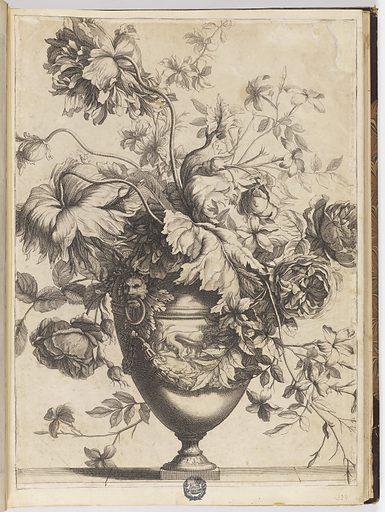 "Plate from ""Le Livre de toutes sortes de fleurs d'après nature,"" book of bound engravings. Made in: France. Date: 1680s. Record ID: chndm_1931-73-311_407."