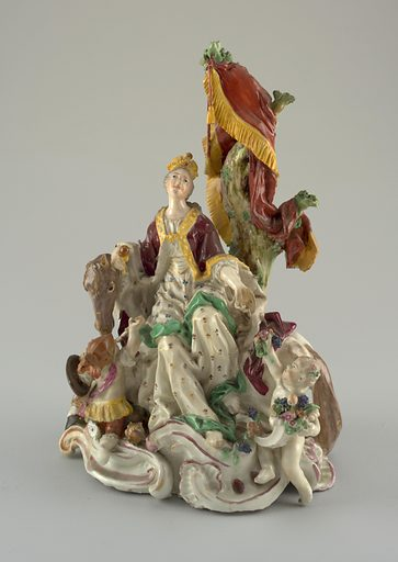 "Allegorical Figure of ""Europe"". Date: 1770s. Record ID: chndm_1960-1-49."