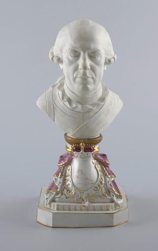 Bust of Charles William Ferdinand, Duke of Brunswick. Date: 1770s. Record ID: chndm_1984-131-4-a_b.