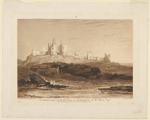 First of three states. Print makers: James Mallord William Turner, British, 1775–1851; Charles Turner, British, 1773–1857. Made in: England. Date: 1800s. Record ID: chndm_1957-191-2.