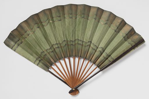 Folding fan. Date: 1910s. Record ID: chndm_2016-9-2.