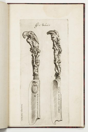 Designs for Knife Handles. Made in: Italy. Date: 1580s. Record ID: chndm_1921-6-350.