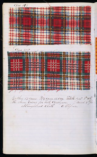 Printer's sample book. Made in: USA. Date: 1860s. Record ID: chndm_1945-55-10.