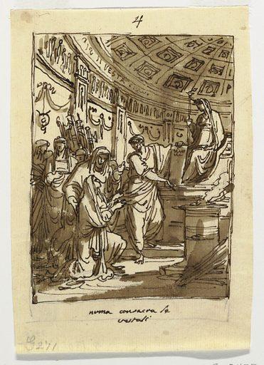 Palazzo Milzetti, Faenza. Made in: Italy. Date: 1800s. Record ID: chndm_1901-39-3455.