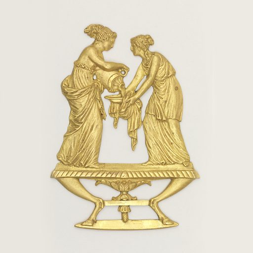 Two classical with with washing. Made in: France. Date: 1800s. Record ID: chndm_1904-20-38.