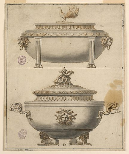 Two Tureens. Made in: Europe. Date: 1790s. Record ID: chndm_1901-39-1076.