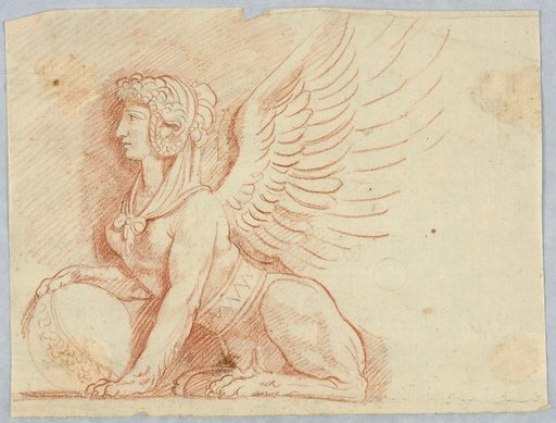 A Sphinx with Globe