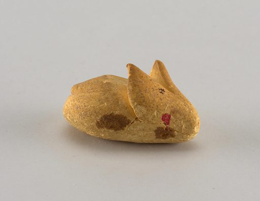 Rabbit with pink eyes. Made in: USA. Date: 1890s. Record ID: chndm_1956-32-54.