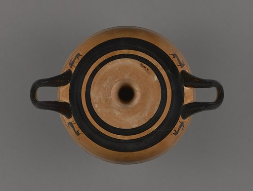 Attic Black-Figure Lip Cup. Date: about 550 BC. Culture: Greek (Attic). Object number: 96.AE.91.