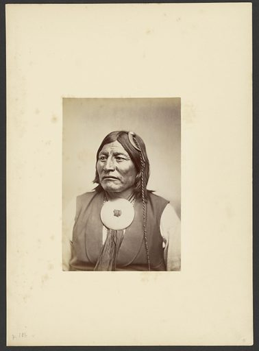 Kotchateka Comanche War Chief Mow-way. Date: 1869–1874. Culture: American. Object number: 84.XM.192.2.