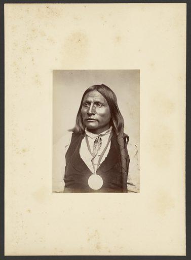 Big Bow [Zepko-eete], Kiowa. Date: 1869–1874. Culture: American. Object number: 84.XM.192.4.