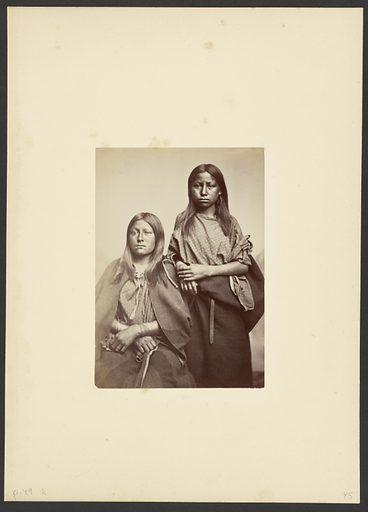 Kiowa Squaws. Date: 1869–1874. Culture: American. Object number: 84.XM.192.17.