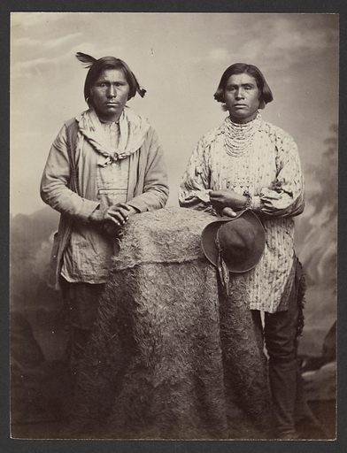 Apache Braves. Date: 1869–1874. Culture: American. Object number: 84.XM.192.27.