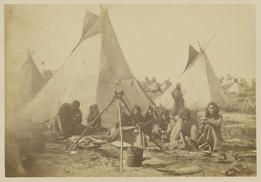 Arapaho Medicine Man Preparing Dinner. Date: 1867–1875. Culture: American. Object number: 84.XP.785.2.
