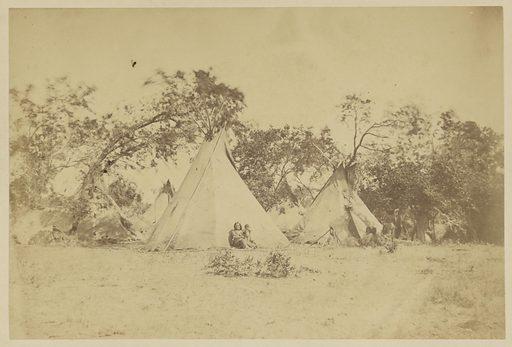 Encampment. Date: 1869–1874. Culture: American. Object number: 84.XP.785.13.