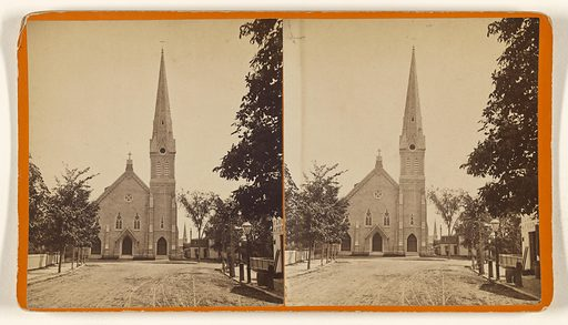 2nd Congregational Church, New London, Ct. Date: 1870s. Culture: American. Object number: 84.XC.873.8981.