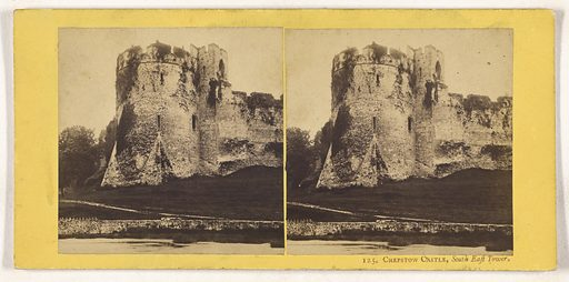 Chepstow Castle, South East Tower. Date: about 1865. Culture: British. Object number: 84.XC.873.1907.