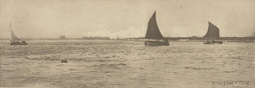 On Breydon Water – Sea-Fog Coming Up. Date: 1887. Culture: English. Object number: 84.XB.696.3.14.