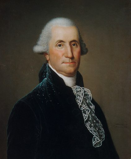 George Washington. Date: 1795. American. Accession number: 2410982.
