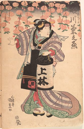 Album of Forty-eight Actor Prints (19th century). Edo period (1615–1868). Japan. Accession number: JP209.