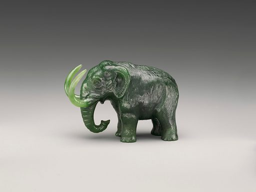 Miniature mammoth of Siberia