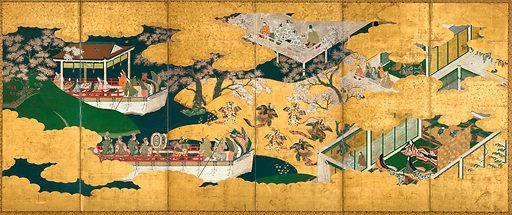 """""""Butterflies"""". Date: late 16th–early 17th century, Momoyama period (1573–1615). Japan. Accession number: 201530032."""