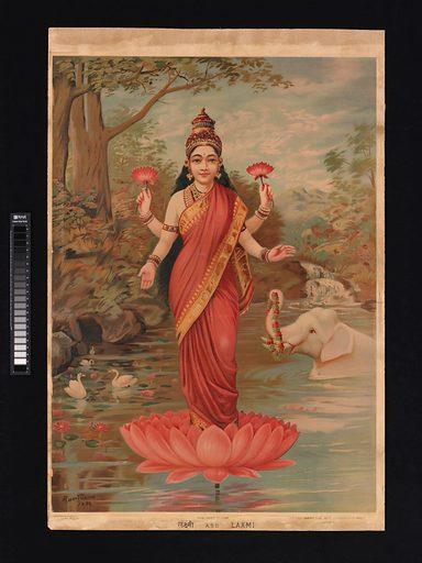 Lakshmi (1894). India. Accession number: 2013.10.
