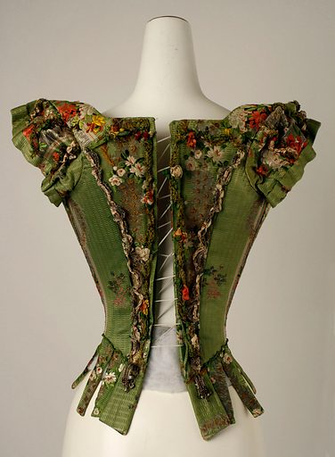 Bodice (18th century). European. Accession number: CI46.42.6.