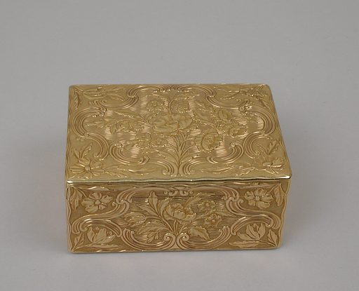Snuffbox (1749–50). Accession number: 48.187.431.