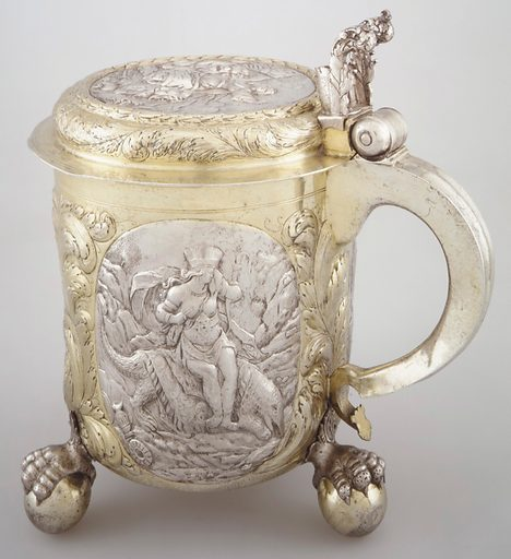 Tankard. Date: late 17th century. Accession number: 5920872.
