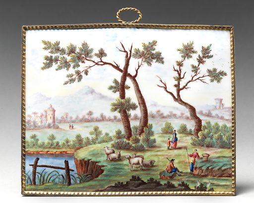 Plaque (ca 1770). Accession number: 64.101.852.