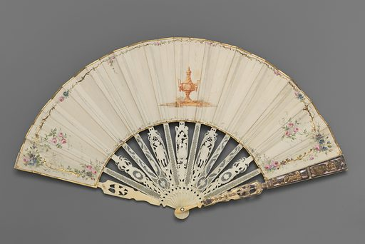 Fan depicting Venus appearing to Adonis (?) Date: ca 1760–90. Accession number: 90226.