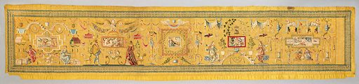 Embroidered panel with Grotesque decoration. Date: 1560–70. Accession number: 5627.