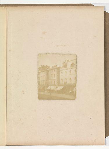 [Nos. 170–176 Regent Street, London] (ca 1846). Accession number: 1981.1229.15.