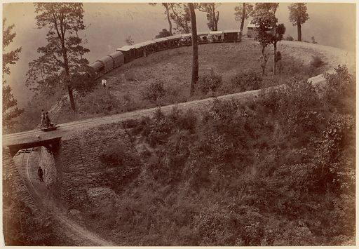 Railway-Loop of Darjeeling Road (1860s–70s). Accession number: 1985.1168.19.