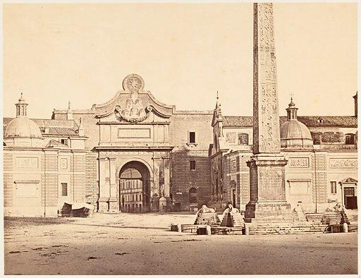 Porta del Popolo. Date: 1848–52. Accession number: 2005100799 (1).