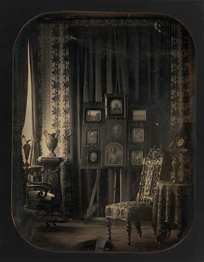 [The Salon of Baron Gros] (1850–57). Accession number: 2010.23.