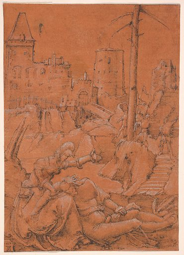 Samson and Delilah (1506). Accession number: 06.1051.2.