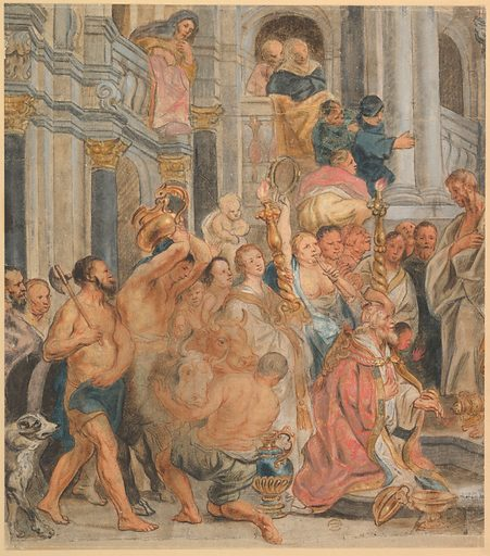 Saint Paul at Lystra (17th century). Accession number: 06.1042.23.
