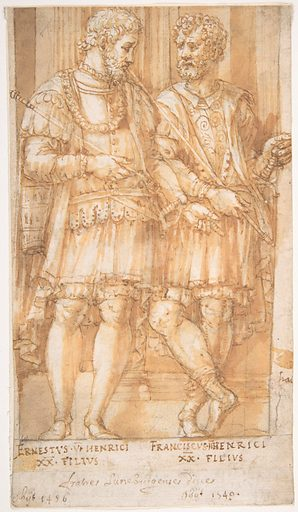 Two Princes of the House of Este: Ernest VI and Francis II (1513–83). Accession number: 63.106.