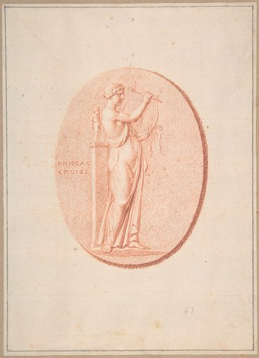 A Muse (n.d.). Accession number: 67.100.5.