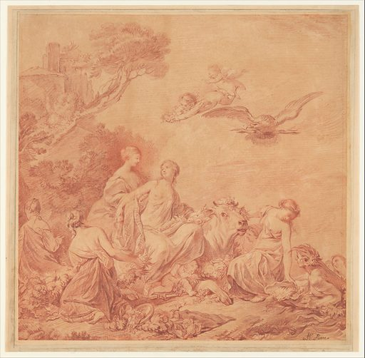The Rape of Europa (18th century). Accession number: 1982.190.
