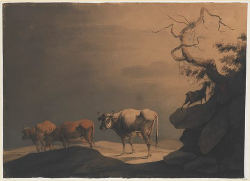 Cows and a Goat in a Landscape (1774). Accession number: 65.42.