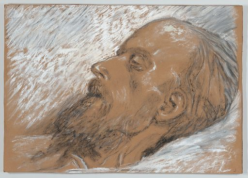 Manet on His Deathbed (ca. 1883). Accession number: 1993.1131.